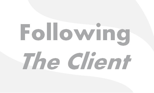 Following The Client
